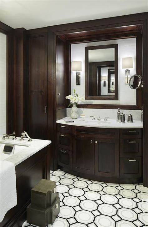 chocolate brown bathroom accessories country furniture hutch