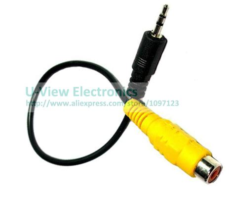 I Rca Connector Sambungan Rca 1p Pole Rca Sambungan 1l 3 pole 2 5mm stereo to rca adapter for gps av in converter cable about
