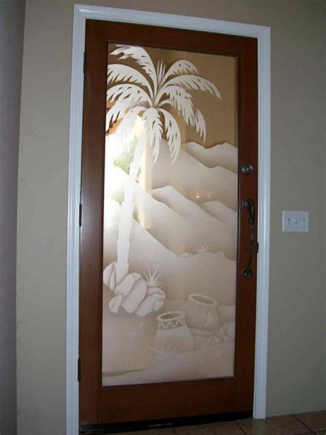 Palm Tree Bathroom Rugs Glass Doors Front Doors With Glass Glass Entry Doors