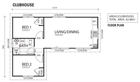 Efficiency Kitchen Ideas clubhouse two bedroom granny flat backyard shacks ranbuild