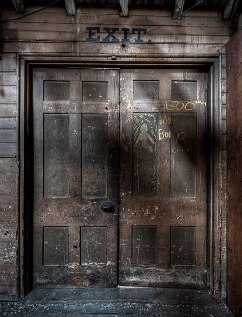scary front door boo lussier photography