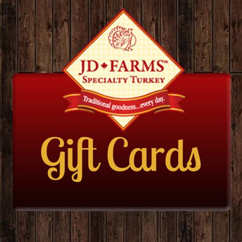 Jd Gift Card - jd farms gift cards jd farms pet food