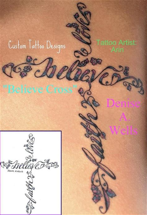 love cross tattoo feminine cross tattoos tattoos