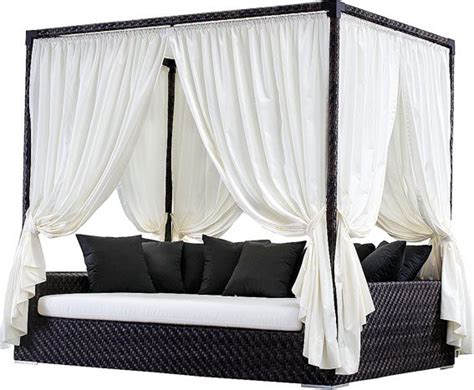 backyard cabana bed omg want this outdoor living