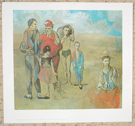 picasso paintings for sale by granddaughter picasso family of saltimbanques 1905 kerrisdale gallery