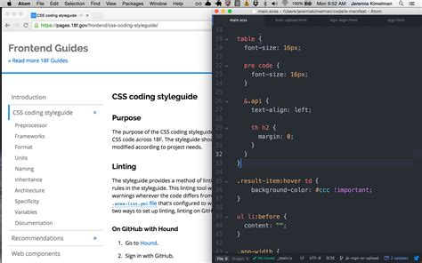 coding walkthrough 18f digital service delivery introducing the css coding