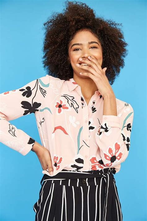 F21 Pleat Blouse look for less floral blouses the work edit by capitol