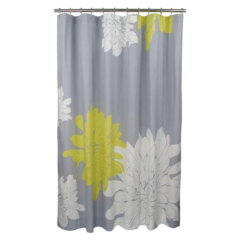bloomingdales curtains blissliving home quot ashley quot citron shower curtain