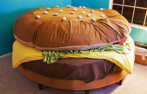 burger bed 26 cool and unusual bed designs architecture design