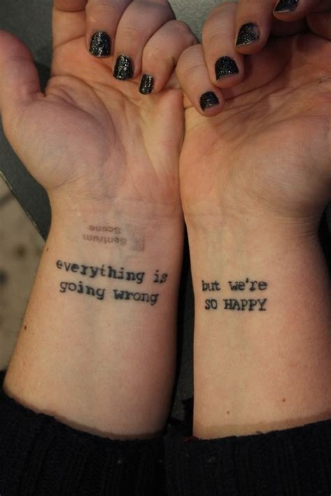 inspirational tattoo quotes on wrist 30 stylish tattoo quotes for girls