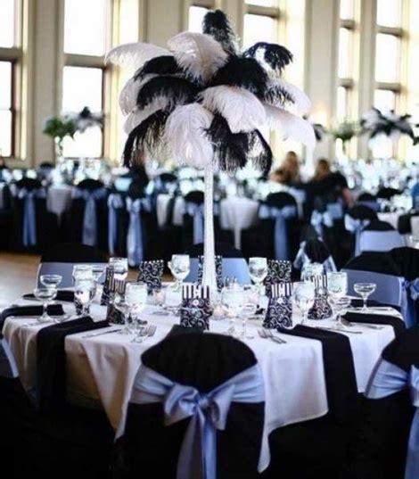 Deco De Table Noir Et Blanc