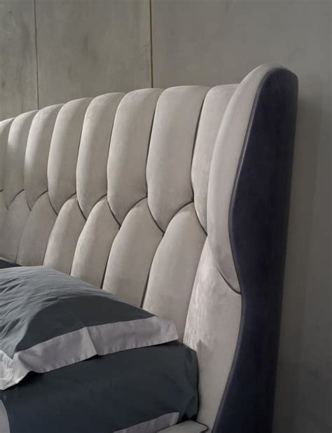 Large Padded Headboards by Bed With Wide Headboard Padded Idfdesign