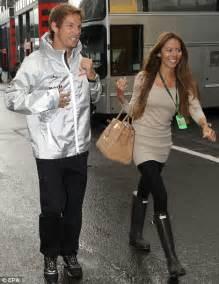 Jenson Button and Jessica Michibata compete for charity in