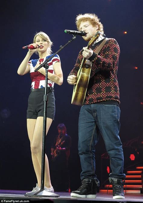 taylor swift duet with country singer taylor swift fan storms stage on uk leg of red world tour