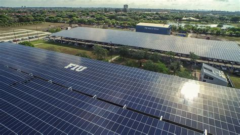 florida power light fiu and fpl unveil one of a solar research facility