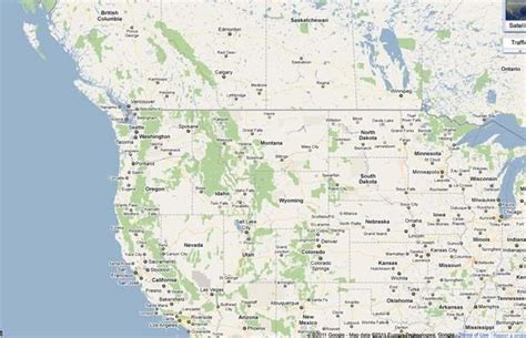 map of usa and canada west coast map canada west coast images