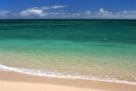 water hawaii turquoise water of kanaha hawaii by