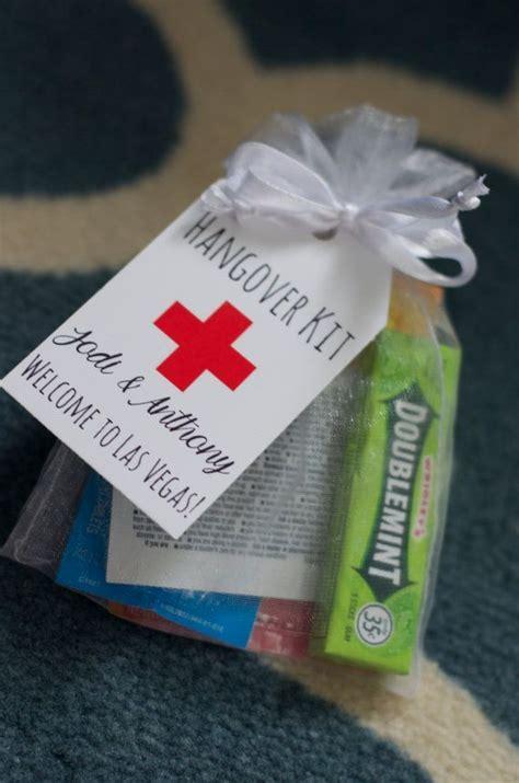 creative wedding favor ideas diy 25 best ideas about hangover kit wedding on