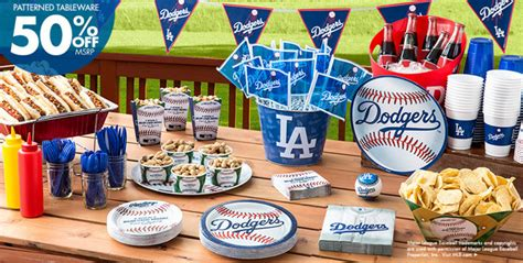 Dodger Decorations by Mlb Los Angeles Dodgers Supplies City