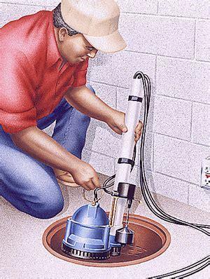 Sump Pump Installation   How to Install a Sump Pump