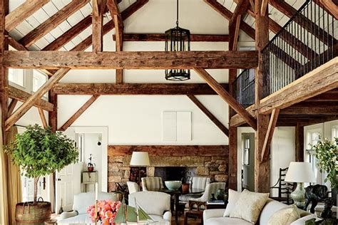 Reclaimed Wood Home Decor by Wood Beam Ceiling Ideas With A Touch Of Rustic Charm