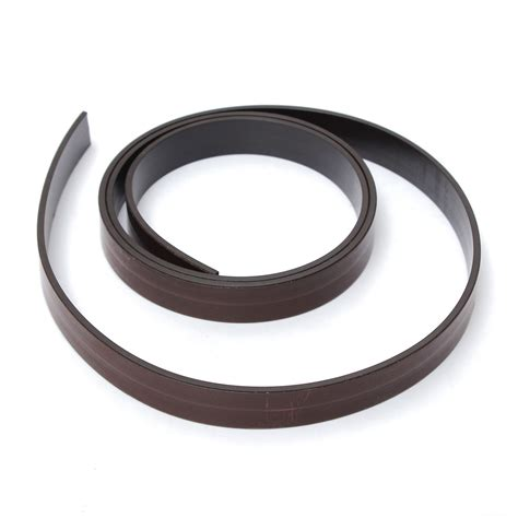1mx15mmx2 2mm rubber self adhesive magnetic stripe