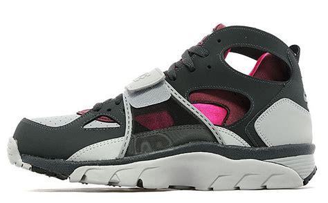 Nike Air High Grey Pink grey pink mens nike huarache high shoes