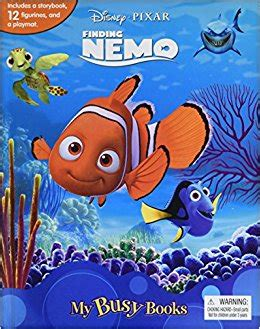 Finding Dory Busy Book disney pixar finding nemo my busy book phidal publishing
