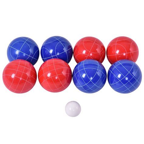 Backyard With Balls Goplus Backyard Bocce Set With 8 Balls Outdoor