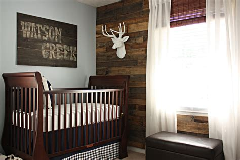 Wooden Nursery Decor Custom Nursery By Rustic Nursery Ideas