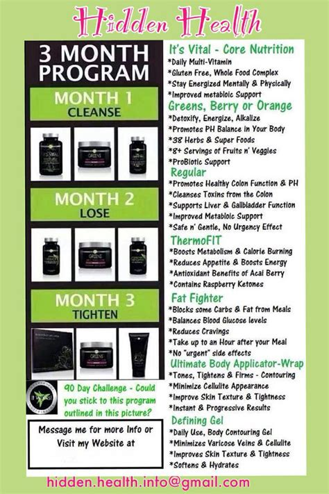 90 day challenge it works health and we
