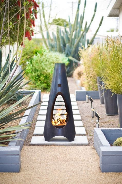 chiminea landscape ideas chiminea patio fireplace ideas to stay warm in the outside