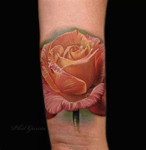 peach rose tattoo 38 best images about hyper realistic tattoos on