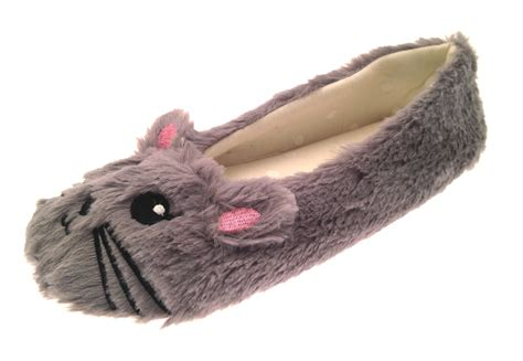 pug slippers uk womens slippers pug bow mules knitted