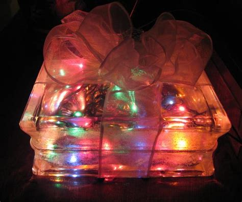 christmas light box