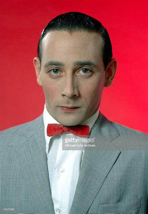 Mr Color Herman actor paul reubens poses for a portrait dressed as his character wee herman in may 1980 in