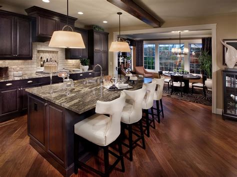 Design Ideas For Kitchen Kitchen Island With Stools Kitchen Designs Choose Kitchen Layouts Remodeling Materials Hgtv