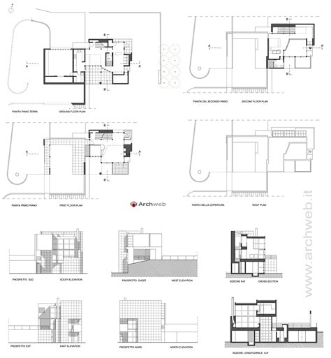 House Plan Drawings Giovannitti House Autocad Dwg Drawings