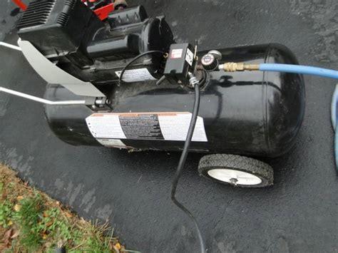 black max coleman powermate air compressor
