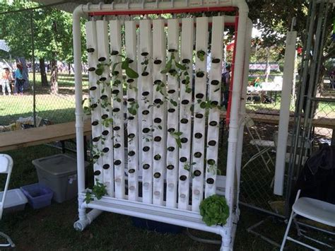 Hydroponics Vertical Garden Raspberry Pi Arduino Are The Brains Of This Automated