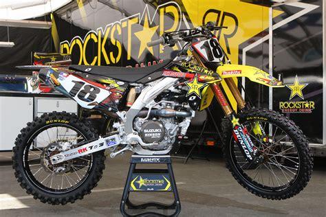 suzuki motocross racing caf 232 supercross racing motorcycles 450 class 2013