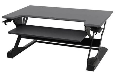 ergotron sit stand desk ergotron 33 406 085 workfit tl desktop sit stand workstation