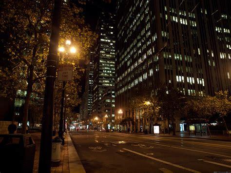 street l at night nuit 224 san francisco photos larges des villes pour l