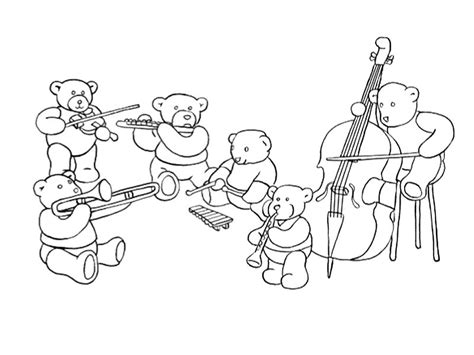 printable coloring pages musical instruments musical instruments free colouring pages