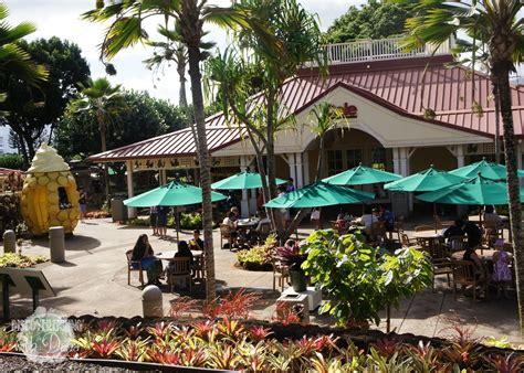patio dole dole plantation pineapple fields oahu