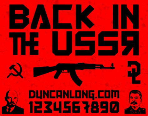 dafont russian back in the ussr dl font dafont com