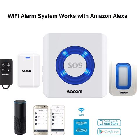 home security alarm system wifi remote