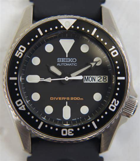 Seiko Divers 7s26 seiko divers 200m wrist mens black 7s26 0030
