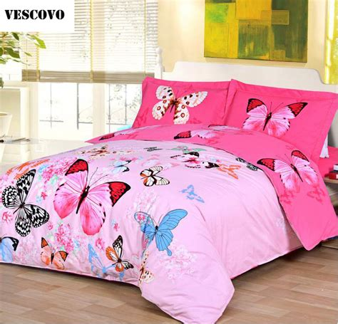 Comforter And Sheet Sets by Vescovo Cotton Satin Bedspreads Butterfly