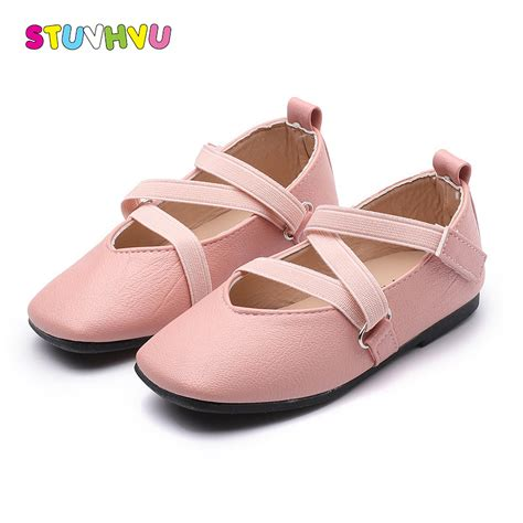 Flat Shoes Anti Licinalas Karet 1 autumn children casual shoes fashion anti slip ballet flats soft shoes square